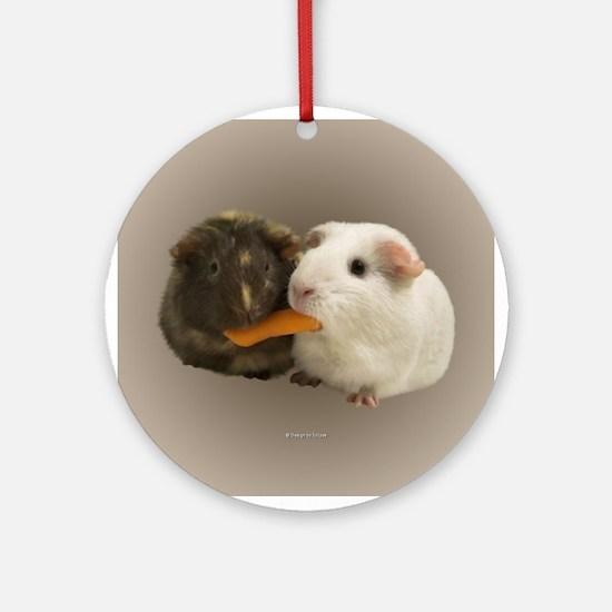Guinea Pigs Ornament (Round)