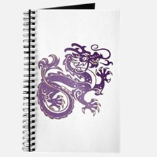 Dragon - Deep Purple W/ Drop Shadow Journal