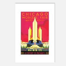 Chicago Poster Postcards (Package of 8)