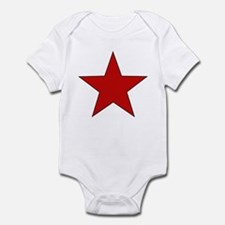 Red Star Infant Bodysuit