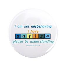 """Understand Autism 3.5"""" Button"""