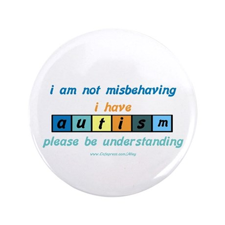 "Understand Autism 3.5"" Button"