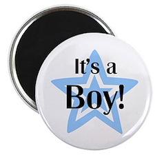 It's a Boy Star Magnet