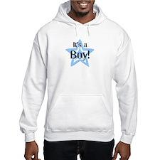 It's a Boy Star Hoodie