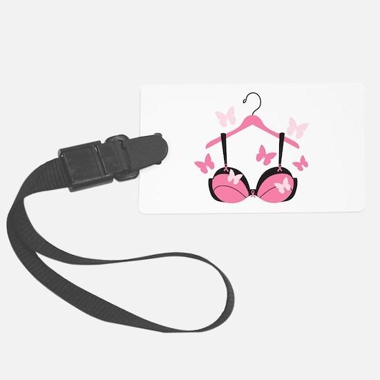 Breast Cancer Bra Luggage Tag