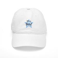 It's a Boy Star Baseball Cap