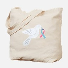 Infertility Awareness Dove Tote Bag
