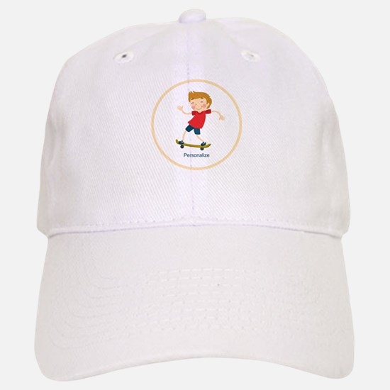 Gifts for Kids Personalized Skating Baseball Cap