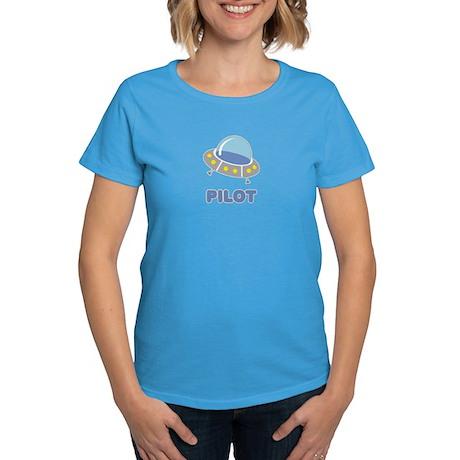 UFO Pilot Women's Dark T-Shirt