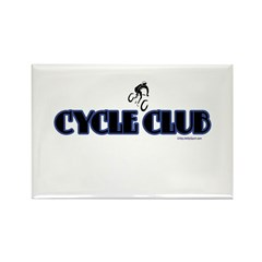 CYCLE CLUB Rectangle Magnet (100 pack)