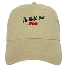 """""""The World's Best Pop"""" Baseball Cap"""