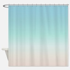 Cute Beach Shower Curtain