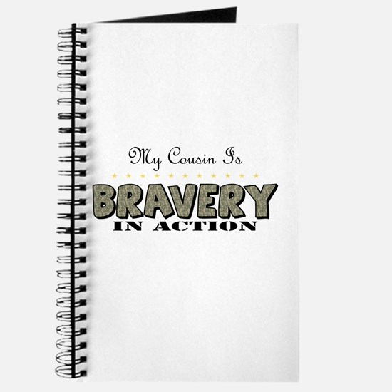 Cute Proud army cousin Journal