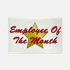 Employee Of The Month Rectangle Magnet