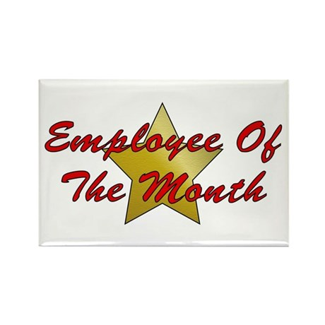Employee Of The Month Rectangle Magnet (100 pack)
