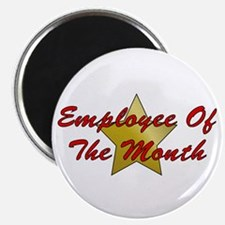 """Employee Of The Month 2.25"""" Magnet (10 pack)"""