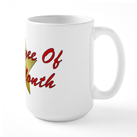 Employee Of The Month Large Mug