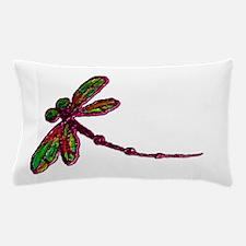 Kaleidoscopic Dragonfly Pillow Case