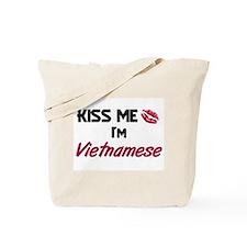 Kiss me I'm Vietnamese Tote Bag