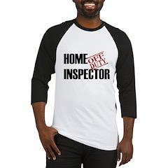 Off Duty Home Inspector Baseball Jersey