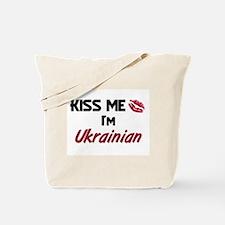 Kiss me I'm Ukrainian Tote Bag