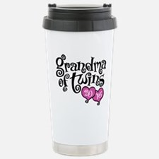 Cool Grandma to twins Travel Mug