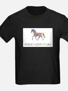 Peace Love Play T-Shirt