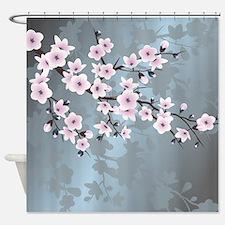 Cute Pink Shower Curtain