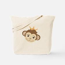 Monkey Queen Tote Bag