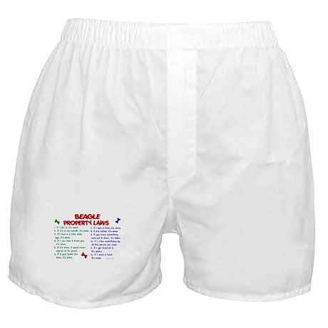 Beagle Property Laws 2 Boxer Shorts