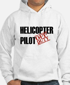 Off Duty Helicopter Pilot Hoodie