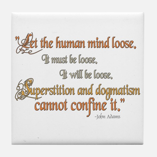 John Adams - Superstition Tile Coaster