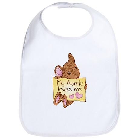 Mouse Love Auntie Bib