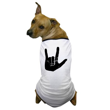 I love you hand Dog T-Shirt