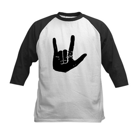 I love you hand Kids Baseball Jersey