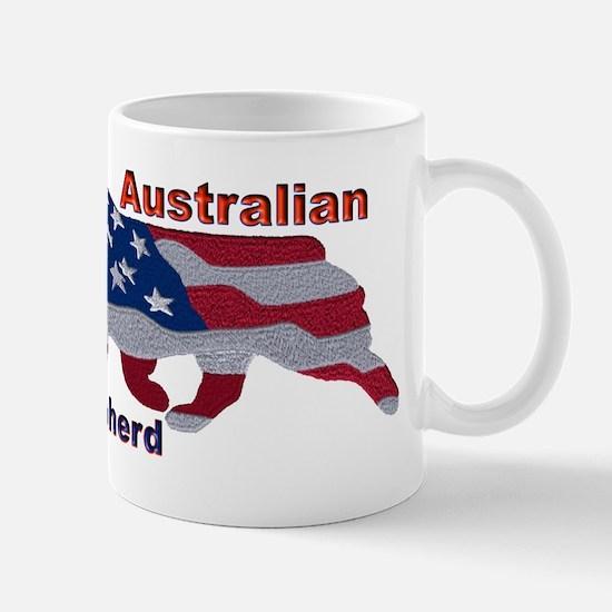 US Flag Aussie Mugs
