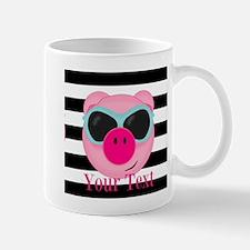 Cool Pink Pig Mugs