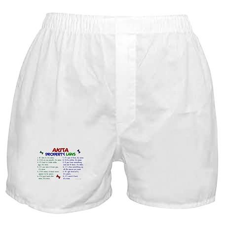 Akita Property Laws 2 Boxer Shorts
