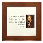 Thomas Paine 6 Framed Tile