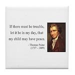 Thomas Paine 6 Tile Coaster