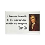 Thomas Paine 6 Rectangle Magnet (10 pack)