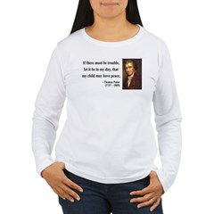 Thomas Paine 6 Women's Long Sleeve T-Shirt