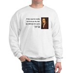 Thomas Paine 6 Sweatshirt