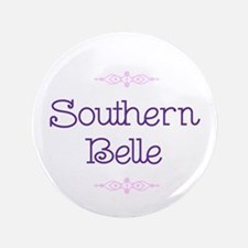 """""""Southern Belle"""" 3.5"""" Button"""