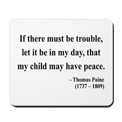 Thomas Paine 6 Mousepad
