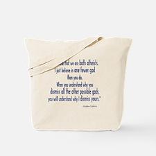Both Atheists Tote Bag