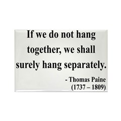 Thomas Paine 7 Rectangle Magnet