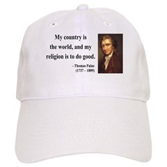 Thomas Paine 8 Baseball Cap