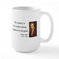 Thomas Paine 8 Large Mug