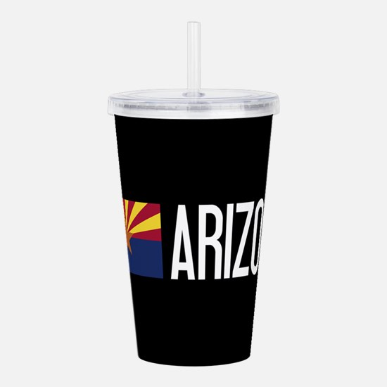 Arizona: Arizonan Flag Acrylic Double-wall Tumbler